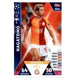 Yuto Nagatomo Galatasaray AS 364Match Attax Champions 2018-19