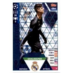 Thibaut Courtois Real Madrid CF – 2017-18 Winners 38