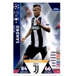 Alex Sandro Juventus 382