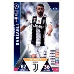Andrea Barzagli Juventus 384