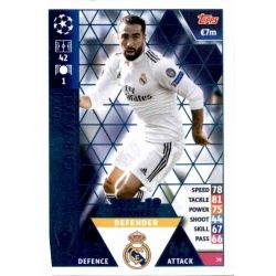 Dani Carvajal Real Madrid CF – 2017-18 Winners 39