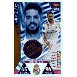 Isco Man of the Match 399