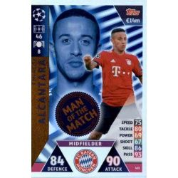 Thiago Alcantara Man of the Match 401