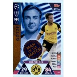 Mario Götze Man of the Match 404