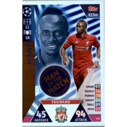 Sadio Mané Man of the Match 408