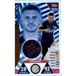 Mauro Icardi Man of the Match 411