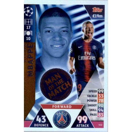 Kylian Mbappé Man of the Match 412