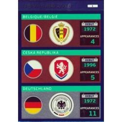 Belgium / Czech Republic / Germany 1