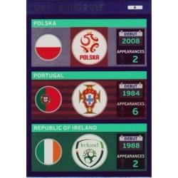 Poland / Portugal / Republic of Ireland 6