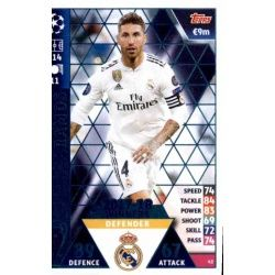 Sergio Ramos Real Madrid CF – 2017-18 Winners 42