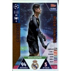 Thibaut Courtois Mega Signing 422 Match Attax Champions 2018-19