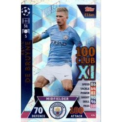 Kevin of Bruyne 100 Club XI 434
