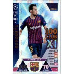 Sergio Busquets 100 Club XI 435