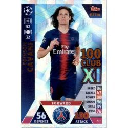Edinson Cavani 100 Club XI 437