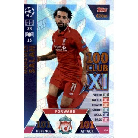 Mohamed Salah 100 Club XI 438