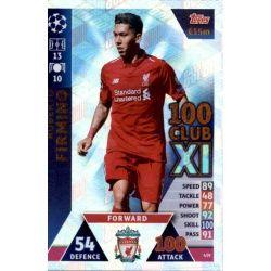 Roberto Firmino 100 Club XI 439