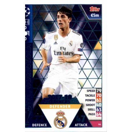 Álvaro Odriozola Real Madrid CF – 2017-18 Winners 44