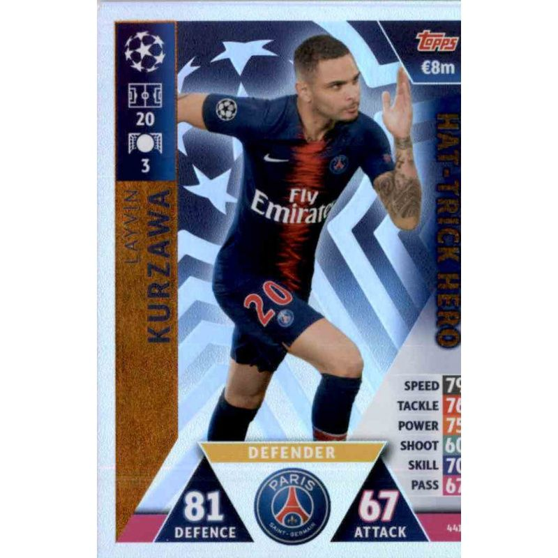 Match Attax UEFA Champions League 2017//18 Cristiano Ronaldo Hat-Trick Hero 441