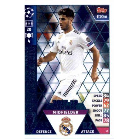 Marco Asensio Real Madrid CF – 2017-18 Winners 45