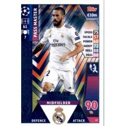 Isco - Pass Master Real Madrid CF – 2017-18 Winners 47