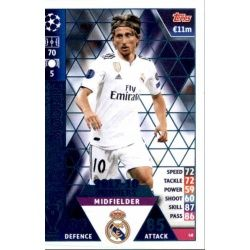 Luka Modrić Real Madrid CF – 2017-18 Winners 48