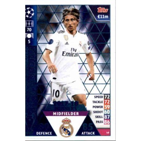 e4af1cf372be8 Buy Online Luka Modrić Real Madrid CF – 2017-18 Winners Topps ...