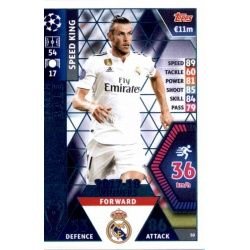 Gareth Bale - Speed King Real Madrid CF – 2017-18 Winners 50