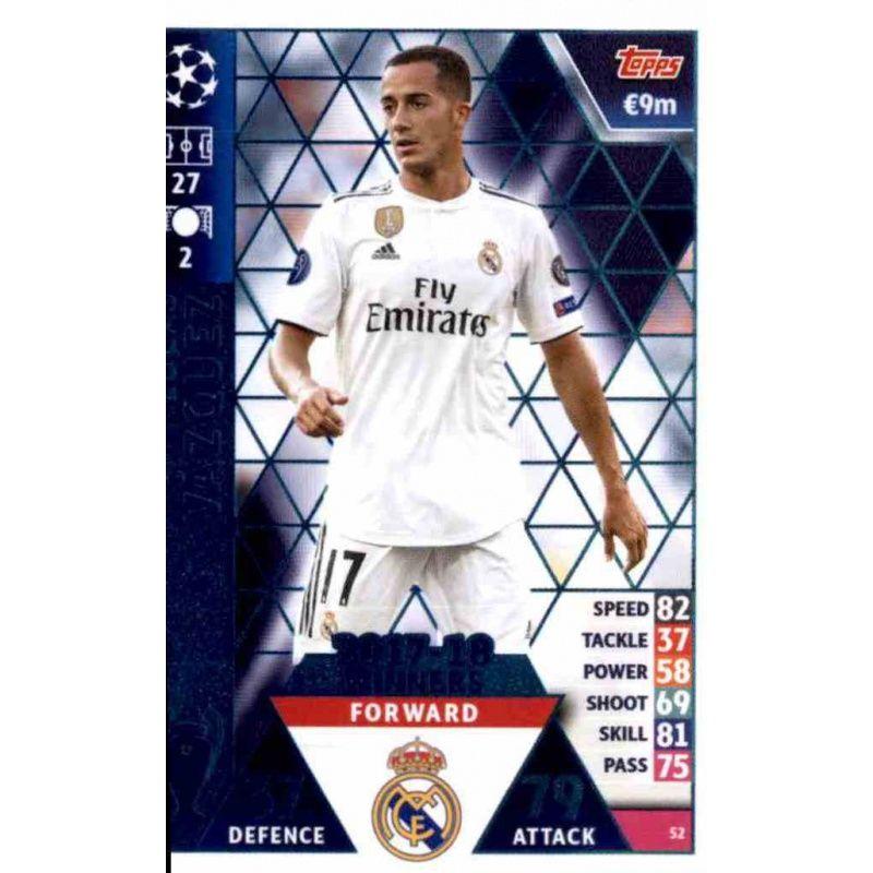 Lucas Moura Fifa 18 Card: Venta Online Lucas Vázquez Real Madrid CF