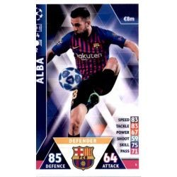 Jordi Alba Barcelona 6