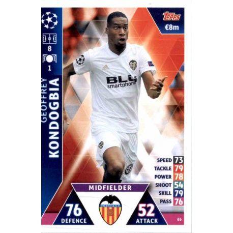 Geoffrey Kondogbia Valencia 65