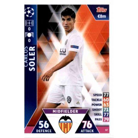 Carlos Soler Valencia 67