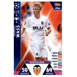 Daniel Wass Valencia 68