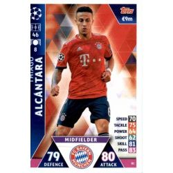 Thiago Alcantara Bayern München 81