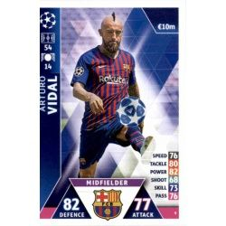 Arturo Vidal Barcelona 9