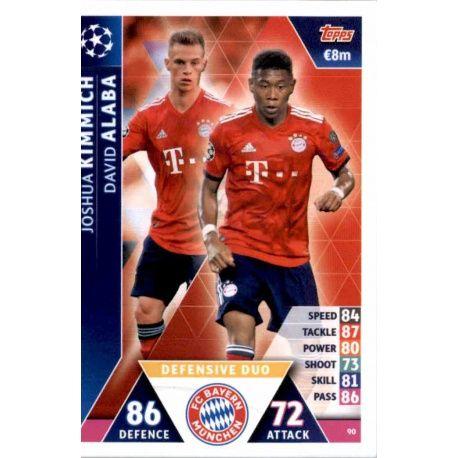 FC Bayern München Joshua Kimmich Champions League 19 20 2019 2020 Sticker 84