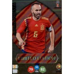 Andrés Iniesta - Spain - Limited Edition