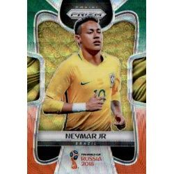 Neymar Jr Prizm GO Wave 25 Prizms Green Orange Wave Parallels