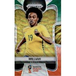 Willian Prizm GO Wave 26 Prizms Green Orange Wave Parallels