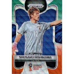 Shusaku Nishikawa Prizm GO Wave 122 Prizms Green Orange Wave Parallels