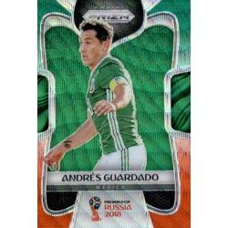 Andres Guardado Prizm GO Wave 128 Prizms Green Orange Wave Parallels
