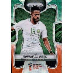 Nawaf Al-Abed Saudi Arabia 174 Prizms Green Orange Wave Parallels