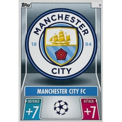 Escudo Manchester City 10
