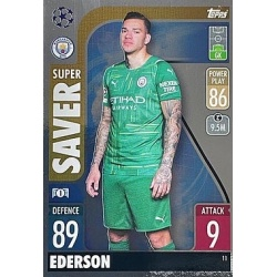 Ederson Manchester City 11