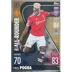 Paul Pogba Manchester United 40