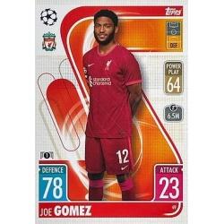 Joe Gómez Liverpool 49