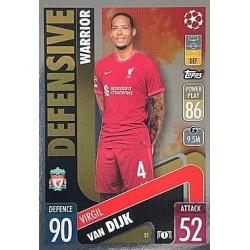 Virgil van Dijk Liverpool 51