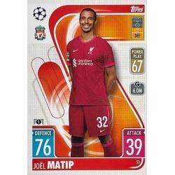 Joël Matip Liverpool 53