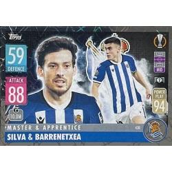 David Silva - Ander Barrenetxea Master & Apprentice Real Sociedad 430