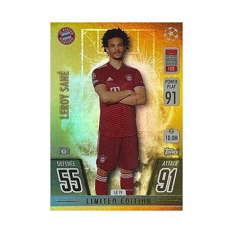 Leroy Sané Limited Edition Gold Bayern Munich LE19