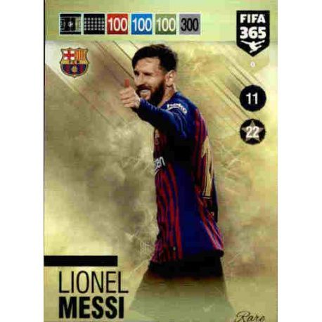 Lionel Messi Top Master 6 FIFA 365 Adrenalyn XL